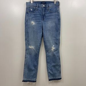 J. Crew Vintage Straight Cropped Jeans 27